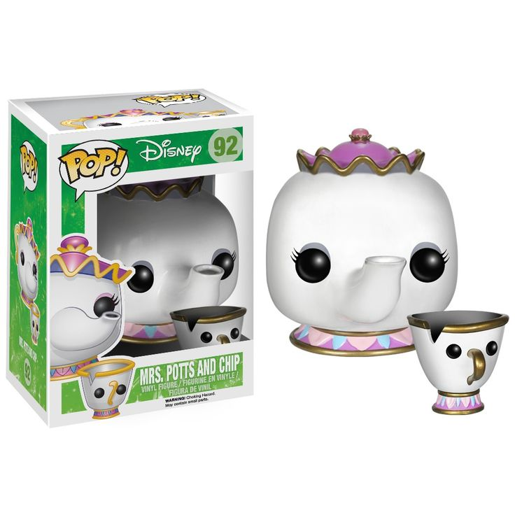 [Pre-Order] Disney Pop! Vinyl Figure Mrs. Potts and Chip [Beauty  The Beast] - Funko Pop! Vinyl - Category
