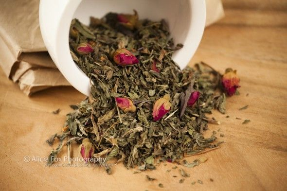 Rose & Mint Tea.  Anybody who knows me knows how much I love tea.  This is a shoot of herbal infusions and teas blended by local Sydney tea masters, T Totaler