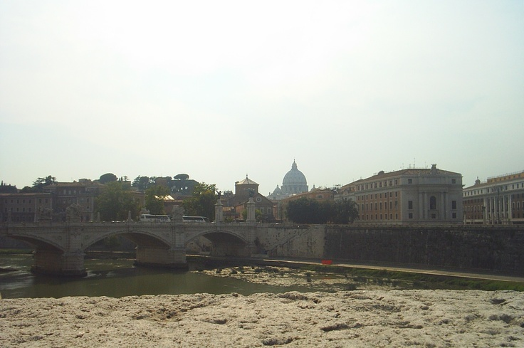 On the way to Vatican
