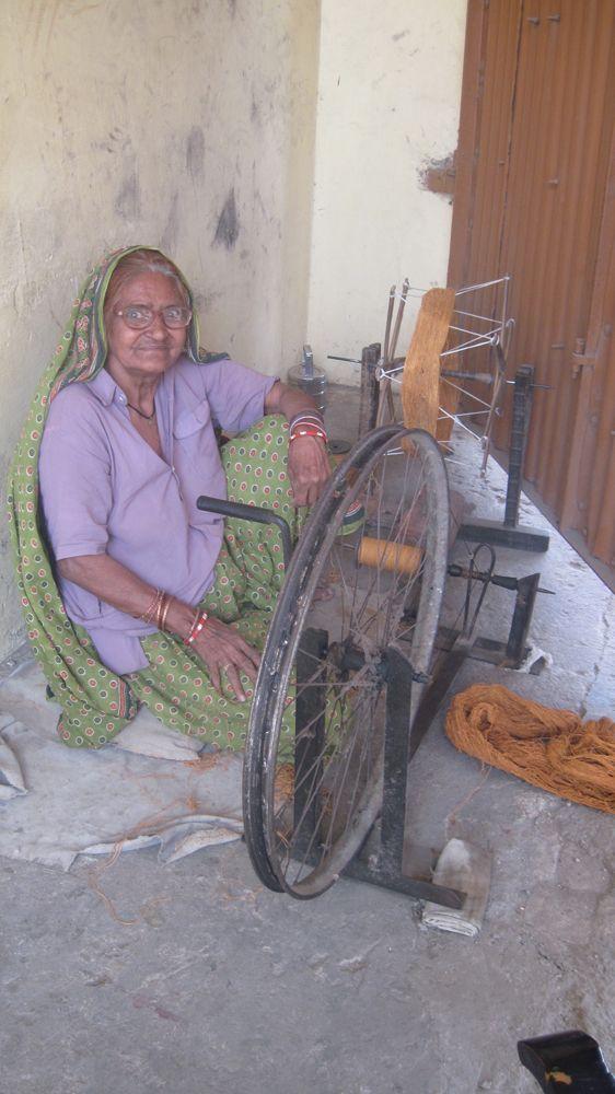 Spinning Yarn.. ha tutta l'aria di essere una ruota di bicicletta!!!