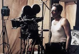 Sergio Castellito in L'uomo delle stelle, diretto da Giuseppe Tornatore, 1995.