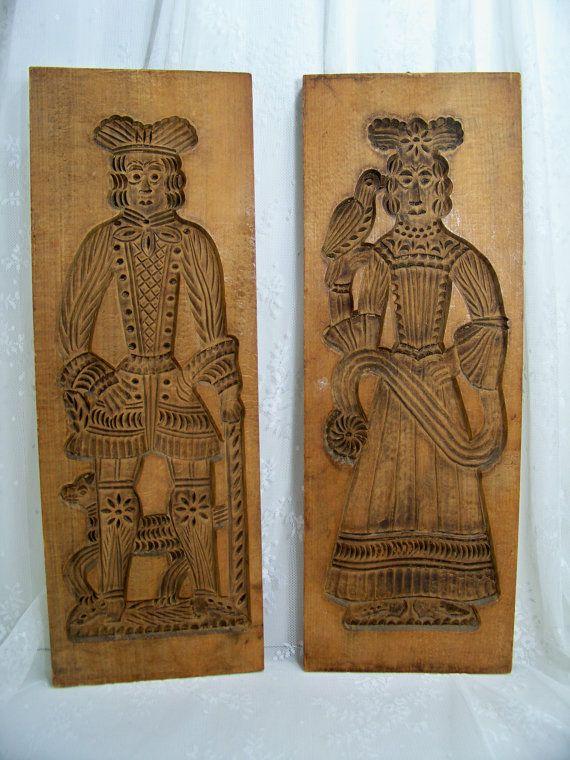 54 Best Vintage Wood Springerle And Speculatius Molds