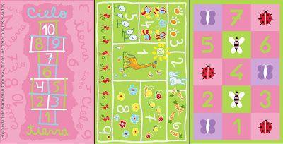 Alfombras con diseño. Fabricación de alfombras: Alfombras para dormitorios infantilesAlfombras para dormitorios infantiles