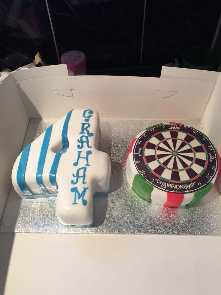 40th birthday, darts mad#Huddersfieldtown fan