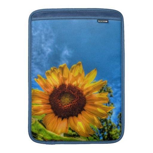 Sunflower MacBook Air Sleeve