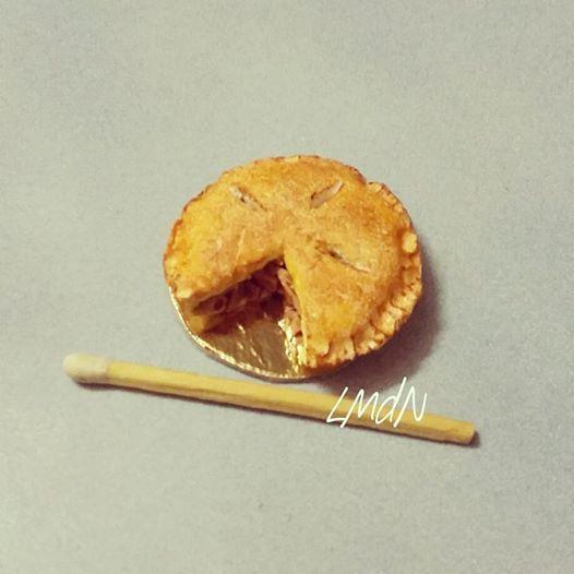 DIY FAKE FOOD miniature apple pie