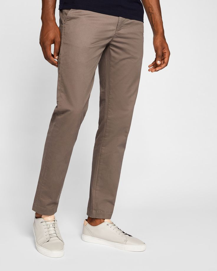 Ted Baker Slim fit chinos Natural