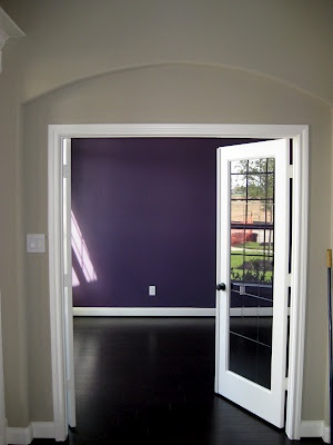 Benjamin Moore Purple Lotus - Love this!!!! Maybe a color for my craft room.