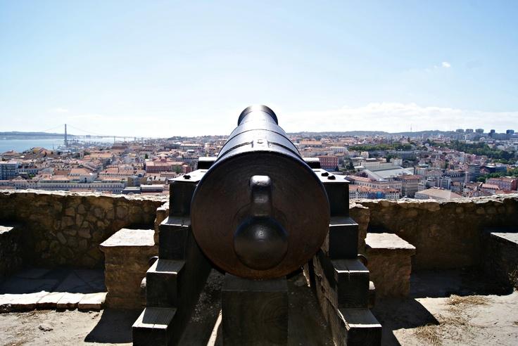 Cañón (Castillo de San Jorge, Lisboa)