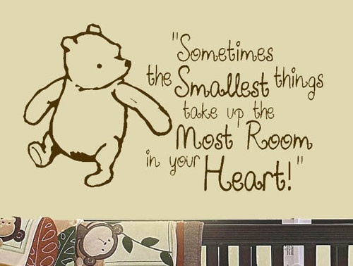 17 best images about winnie the pooh on pinterest the for Classic pooh wall mural