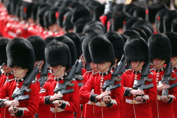 Royal guard, London