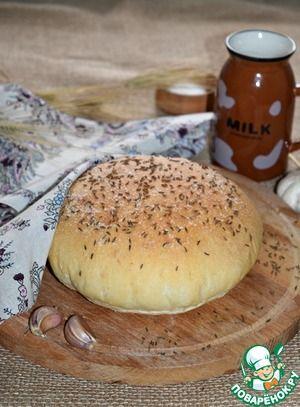 Домашний чесночный хлеб