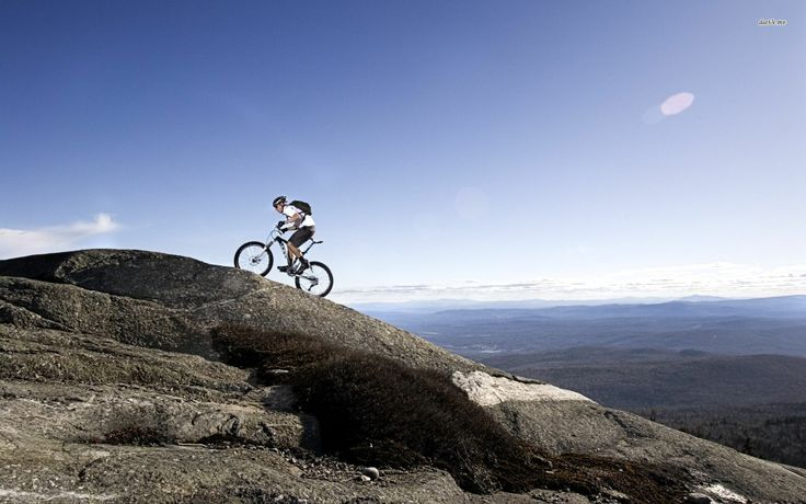 Here is an cool website if you are interested in mountain biking.  It has a lot of information on single speed mountain bikes.