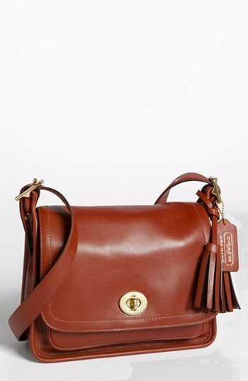 COACH 'Legacy Archival Rambler' Leather Crossbody Bag, Small available at #Nordstrom #NSale