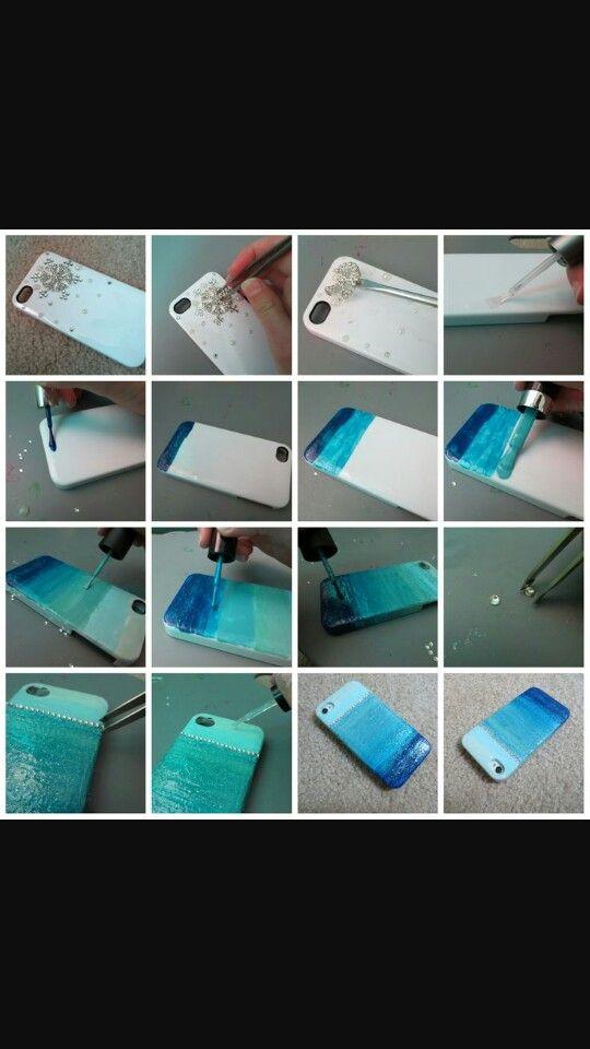 Diy ombre phone case