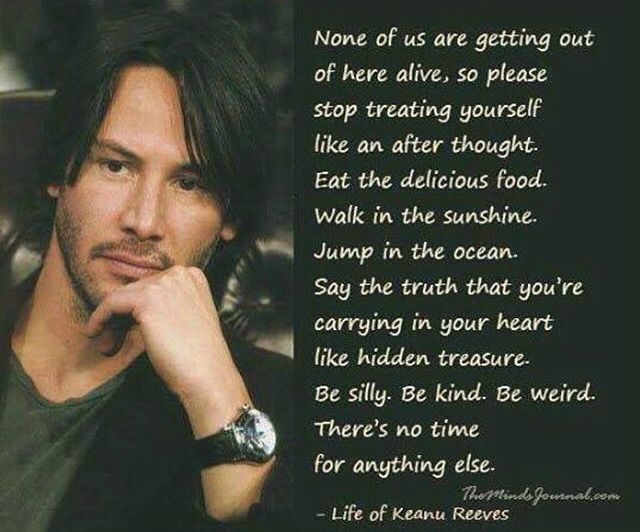 -Keanu reeves                                                                                                                                                                                 More