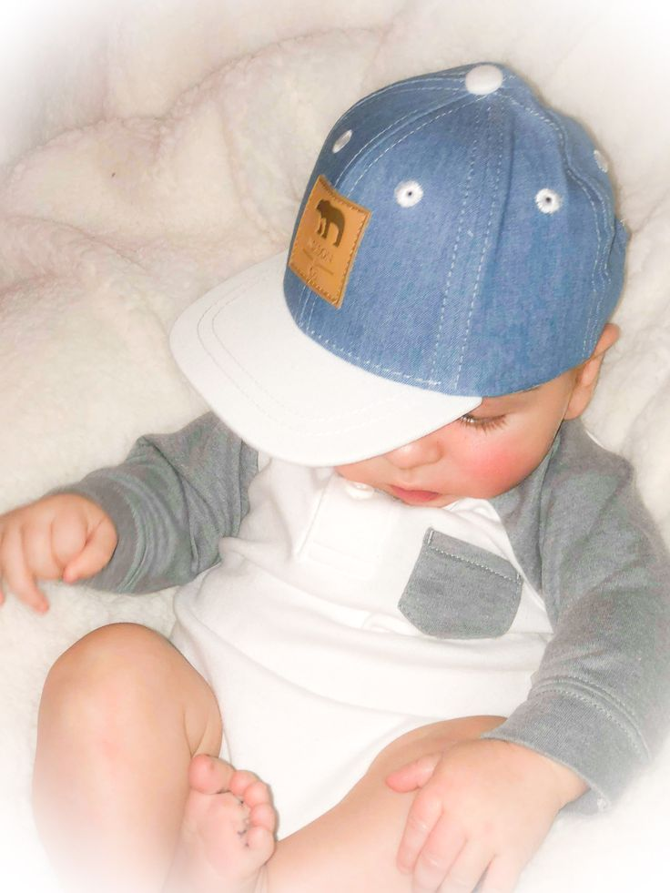 Hip baby with the Terry Blue Snapback!