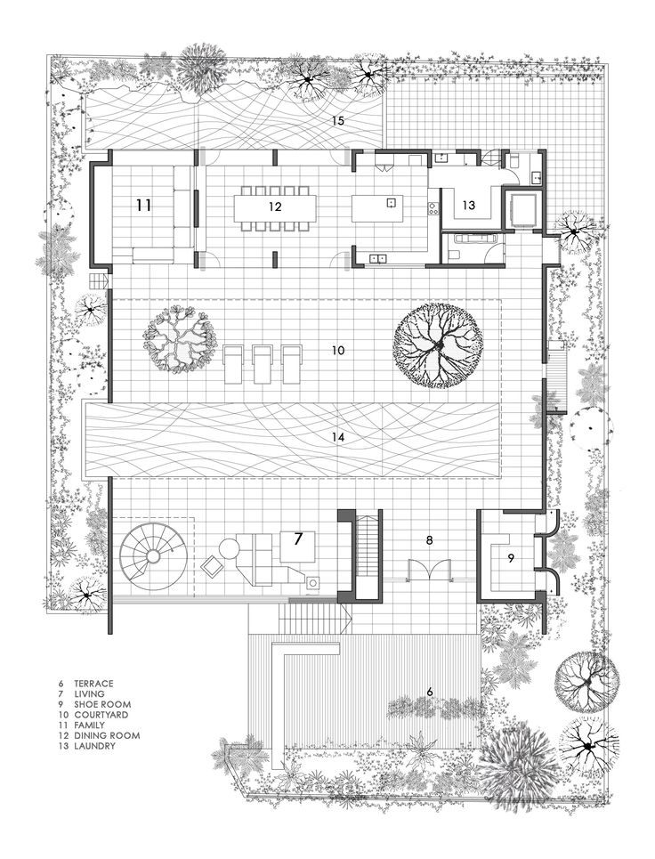 Gallery Of The Courtyard House Formwerkz Architects 12