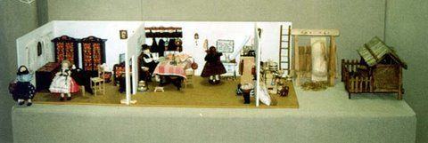 Diósberényi szoba+konyha+kamra+udvar