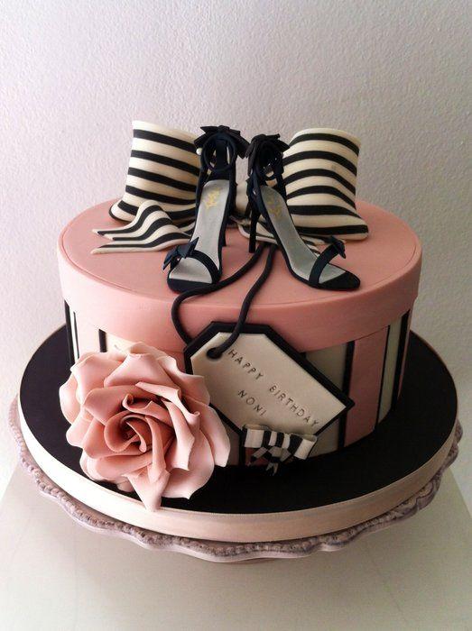 Fashion style box cake