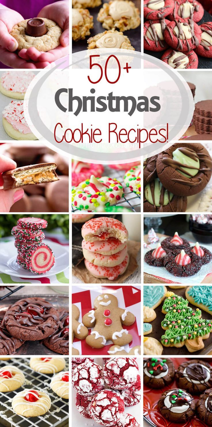 Tis the season for cookies! I\'ve rounded up over 50 Christmas Cookie ...