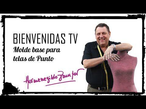 Hermenegildo Zampar - Bienvenidas TV - Molde base para Telas de Punto - YouTube