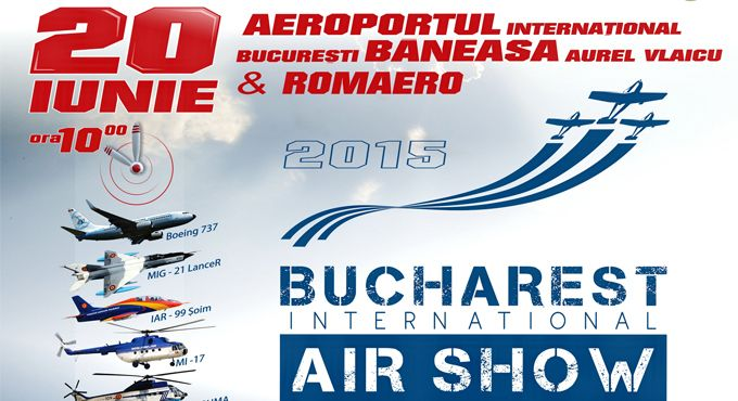 Bucharest International Air Show & General Aviation Exhibition 2015 – #bias2015