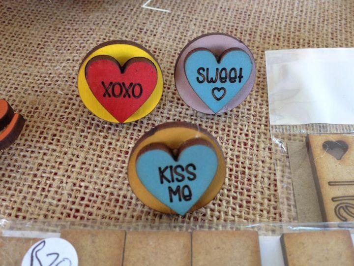 Love sweets rings! Beautiful! heehee
