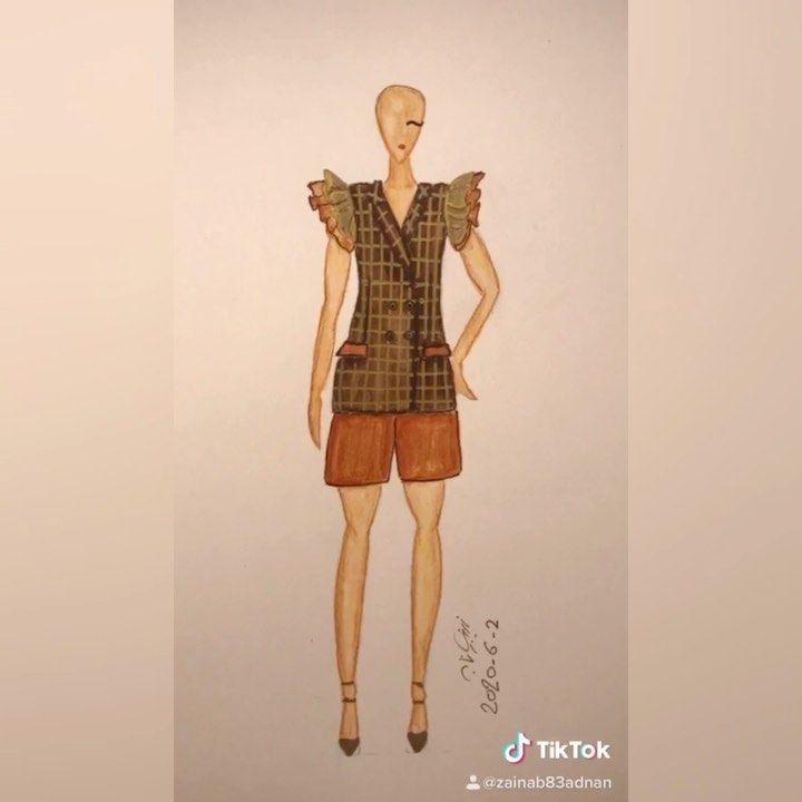 Zainab Al Ani On Instagram فستان فساتين ستايل تصاميم عراقية تصميم جديد تصميم تصاميمي رسام رسامة فنانة كلنا رسامين رسمتي Design My Design Instagram