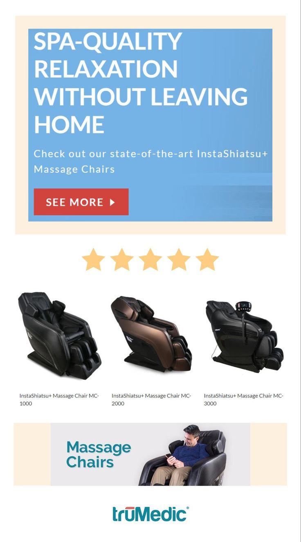 Chair massage benefits - Instashiatsu Massage Chair Mc 1000