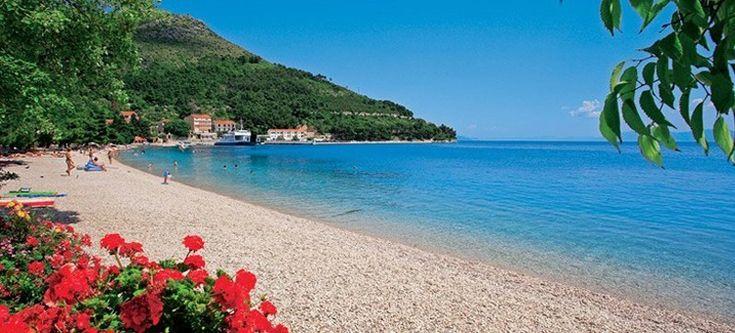 Caesar-Hotel Vir - #strand a Vir szigeten