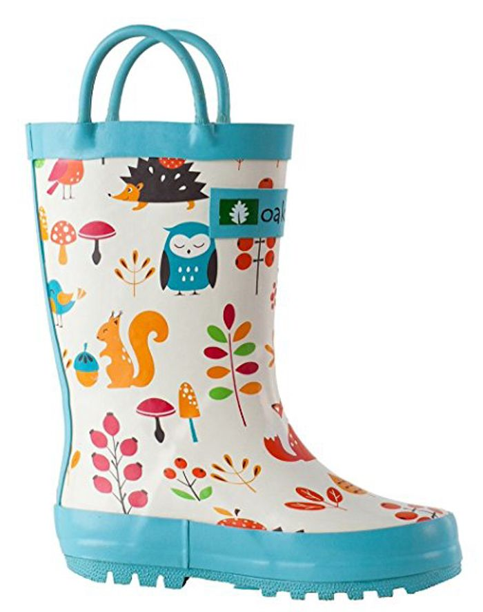 Forrest Animal Rain Boots For Kids 15 Rain Boots For Kids Spring Rain Boots For Kids Bright Colored Rai Kids Rain Boots Toddler Rain Boots Girls Rain Boots