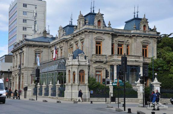 Arquitetura clássica em Punta Arenas, no sul do Chile