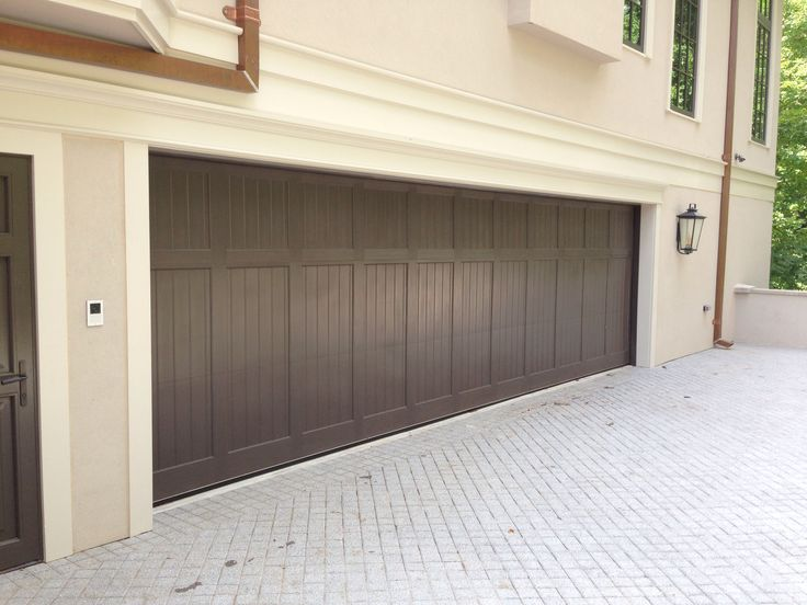 Lovely Custom Stained Clear Red Grandis Carriage House Wood Garage Door By Crisway  Doors In NW, Washington, DC. | Pinterest | Wood Garage Doors, Garage Doors  And ...