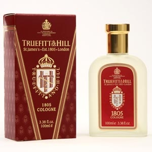 Established in 1805, during the year of the Battle of Trafalgar, Truefitt & Hill's line of men's grooming products catered to the exacting standards of London's gentry. The most popular fragrance from the brand, 1805 symbolizes the year of their foundation. Intensive and strong, but not too strong, it opens with notes of bergamot, mandarin and cardamom combined with lavender, geranium and clary sage heart; resting on a sandalwood, cedarwood and musk base. £40