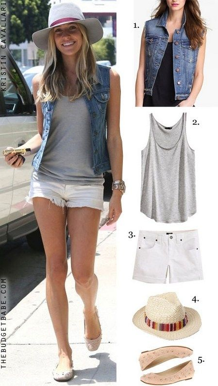 150 pretty casual shorts summer outfit combinations (88)
