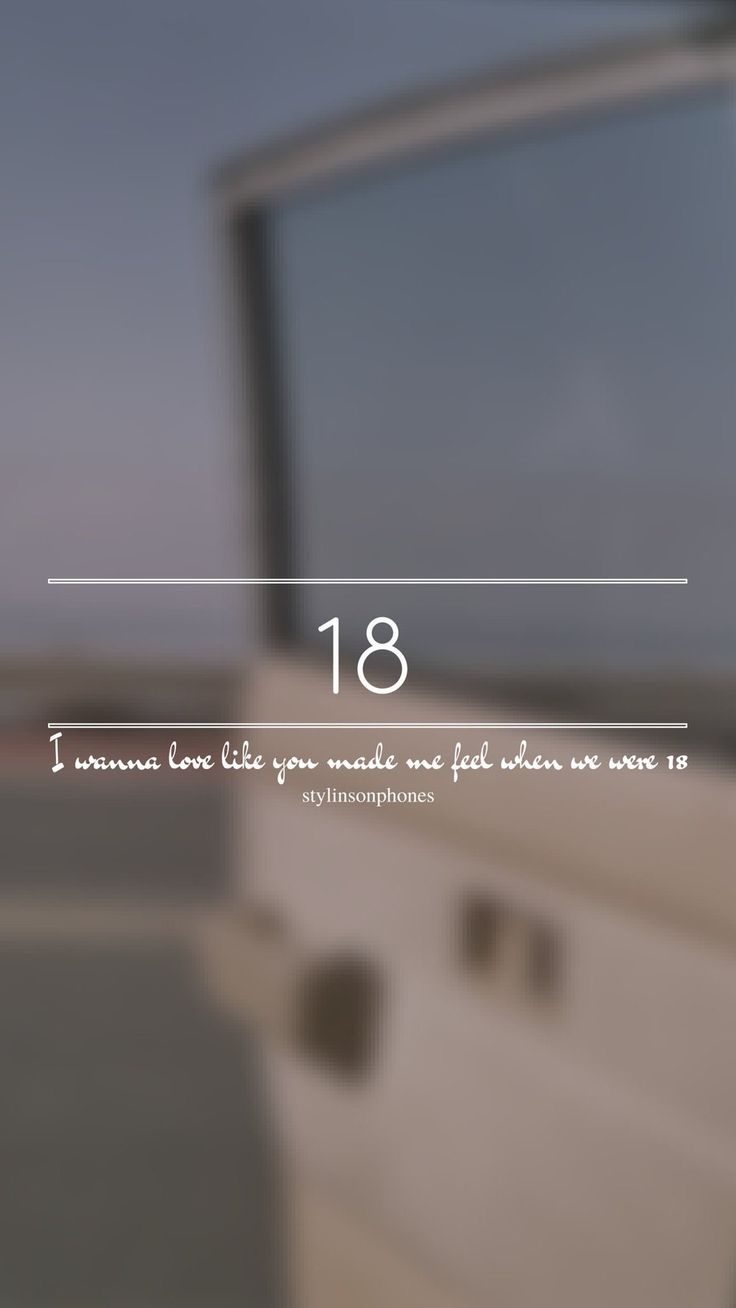 18 // One Direction // ctto: @stylinsonphones (on Twitter)