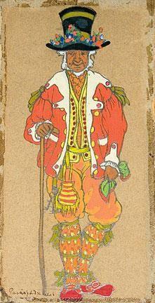 Рерих эскиз костюма пер гюнт