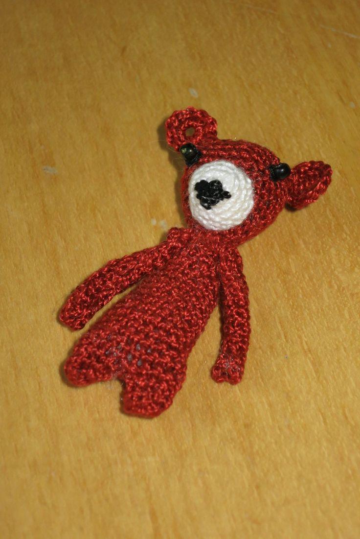 háčkovaná medvídek/ crocheted bear