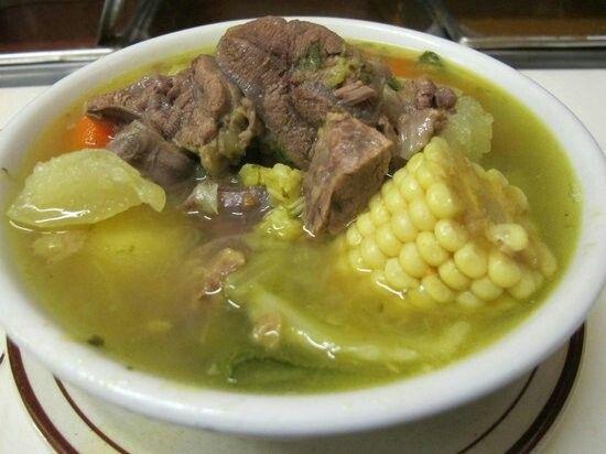 Caldo de rez. Beef soup