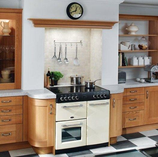 recess above cooker