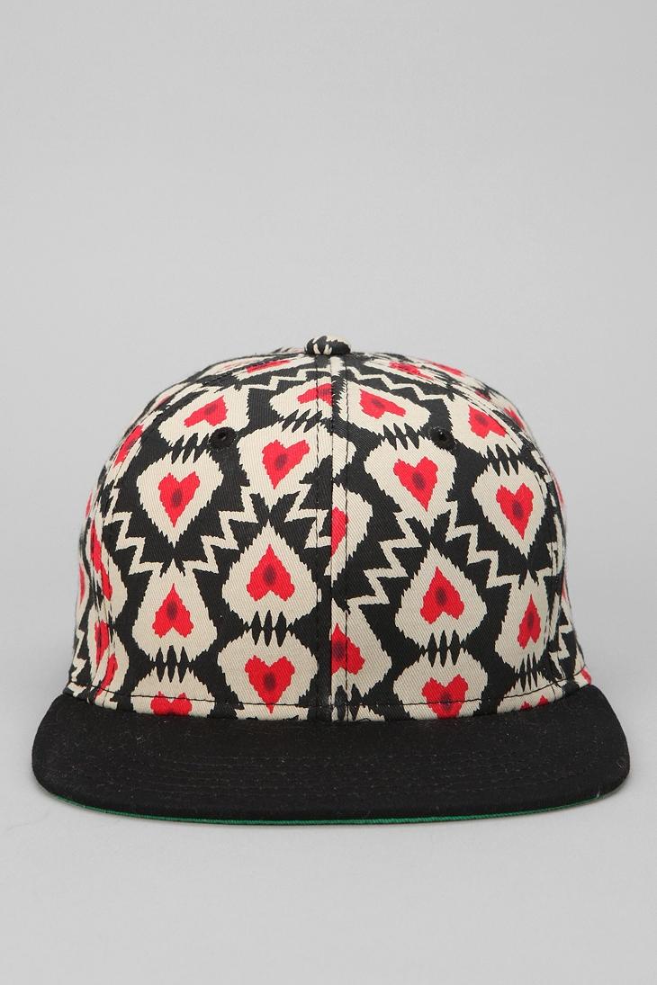 Galen Print Snapback Hat