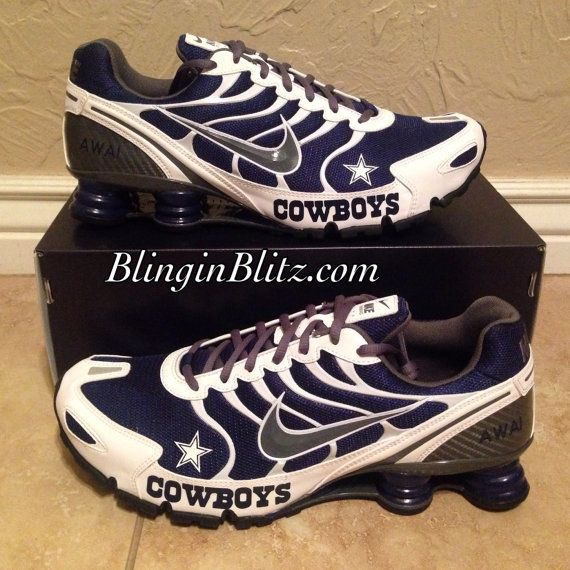 Be the talk of the game or watch party with these custom shoes!! Any team, number!! PLZ allow 6-8 weeks for delivery