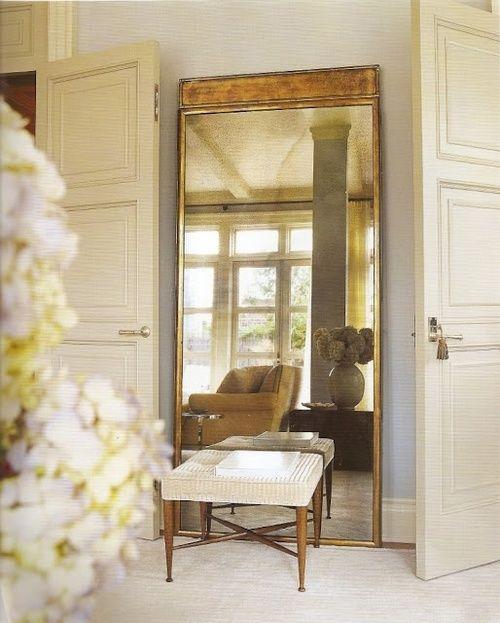 mirror, doors