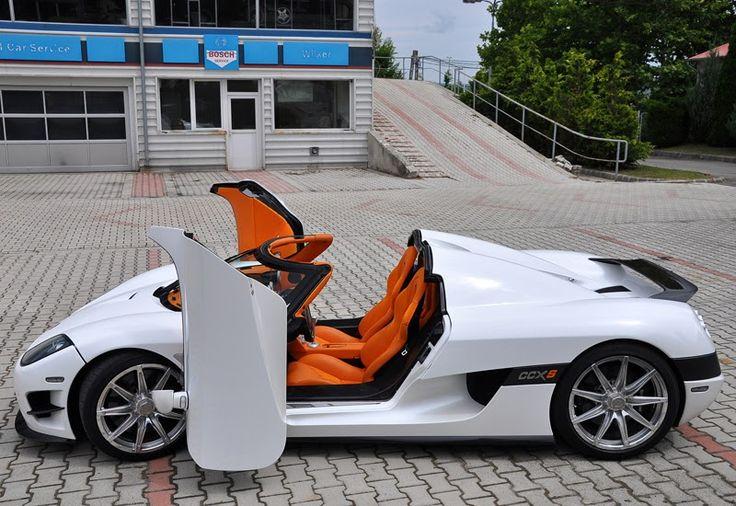 Carro de Cristiano Ronaldo Koenigsegg CCXS no valor de R$ 6 milhões