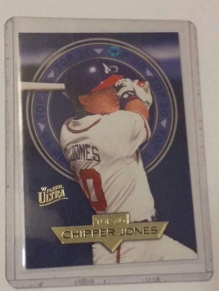 Park Art My WordPress Blog_Chipper Jones Rookie Card Upper Deck