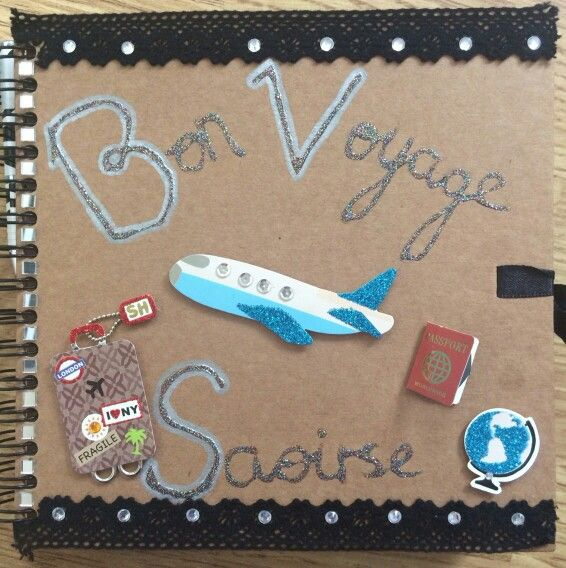 Leaving scrapbook