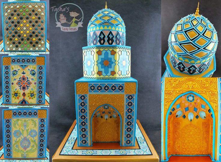 Mosque cake insp.