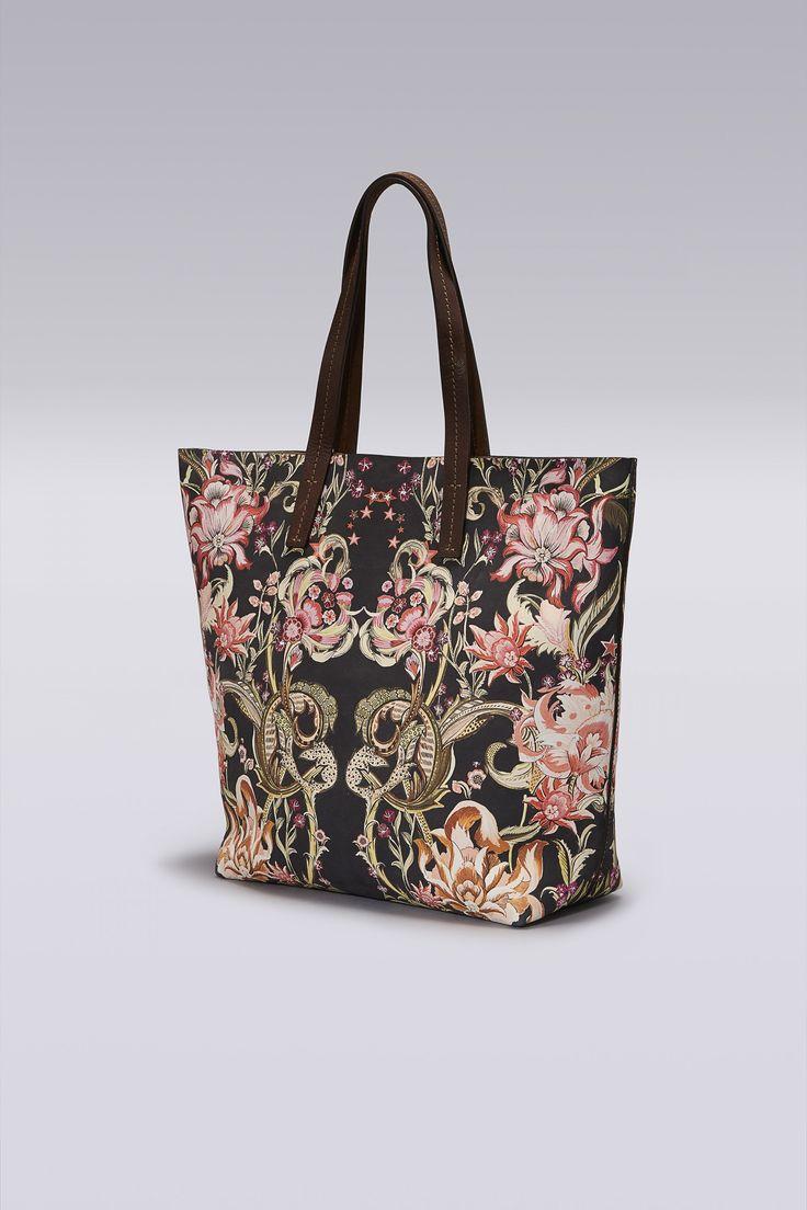 Roberto Cavalli Galaxy Garden Tote Bag
