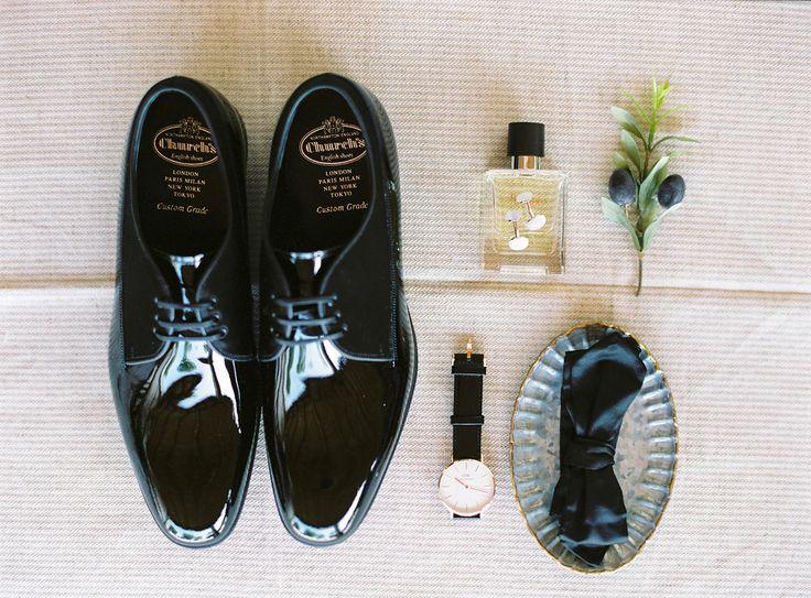 Groom getting ready photographs. Branco Prata. #wedding #groom #shoes #formal #classic